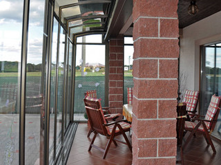 Coperture per terrazzi corso solid galleria fotografica - Coperture per giardini ...