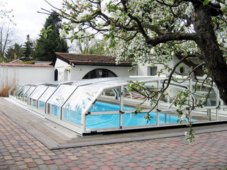 Swimming pool cover OCEANIC - low