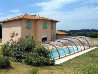 Pool enclosure TROPEA NEO made by Alukov a.s.