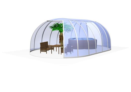 Masažinu vonia uždanga SPA Sunhouse®