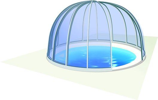 Abri de piscine Orient™
