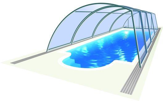 Abri de piscine Ravena