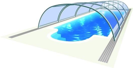 Zwembadoverkapping Tropea NEO™
