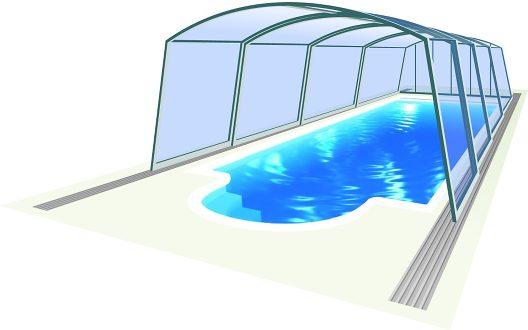 Zwembadoverkapping Venezia