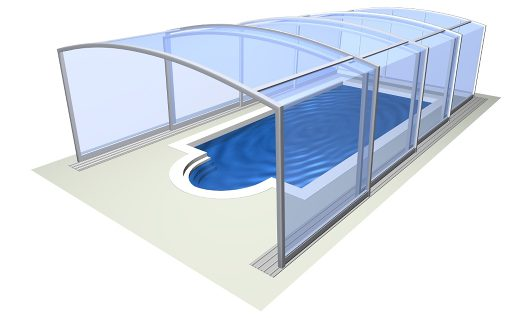 Zwembadoverkapping Vision