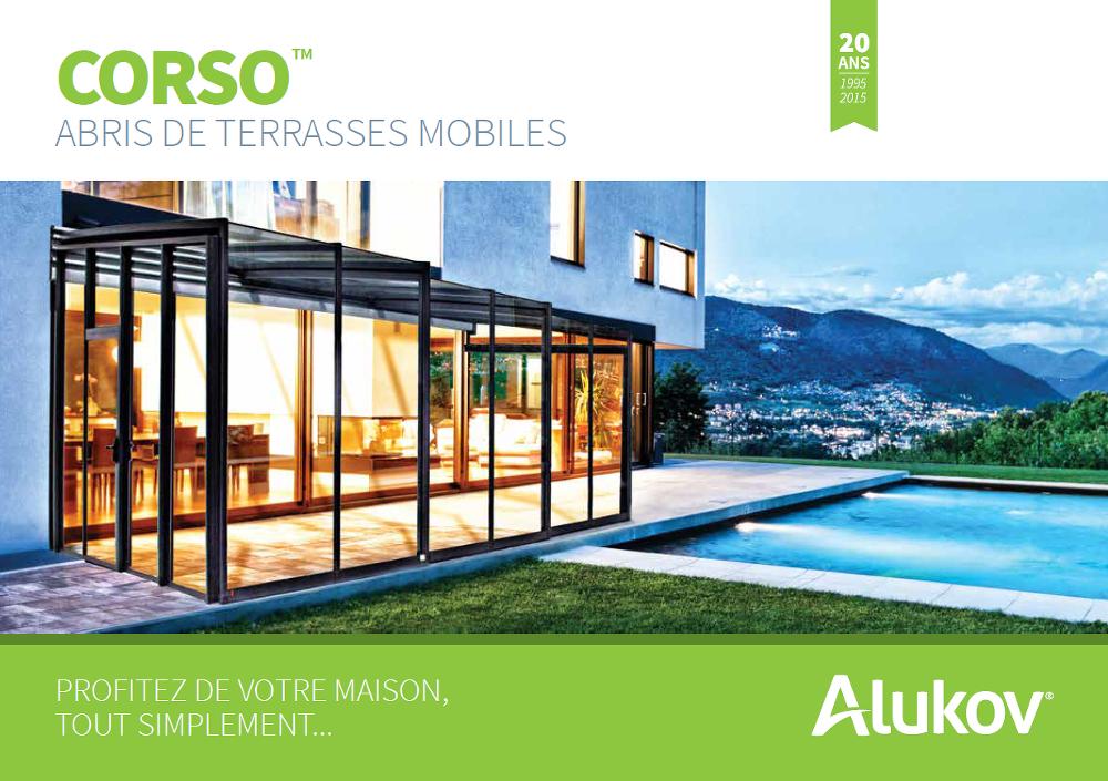 Catalogue de abris de terrasse pour Asexx Europe