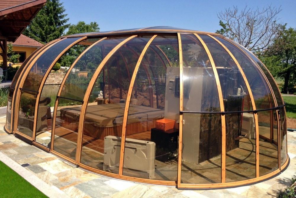 Hottub overkapping SPA Sunhouse