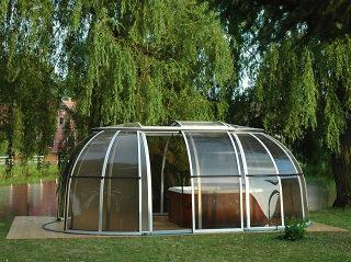 Tent Overkapping Tuin : Fotogalerij van spa overkapping spa sunhouse axess europe
