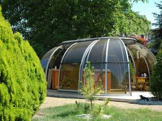 Telescopische Spa overkapping SPA SUNHOUSE