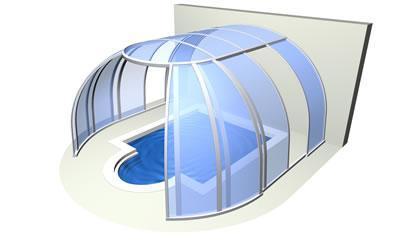 Hot tub enclosure Oasis™
