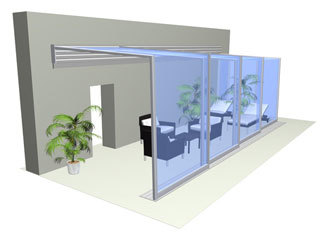 Patio enclosure CORSO Ultima