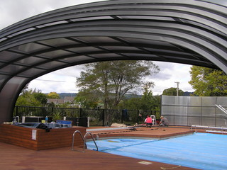 All Seasons Holiday Park Rotorua - Grande Laguna Pool Enclosure