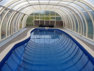 Big pool enclosure LAGUNA NEO