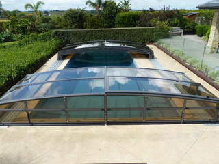 Pool enclosure Corona installed in Auckland