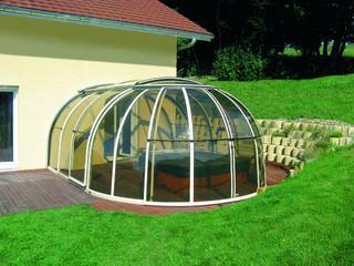 Spa pool enclosure OASIS - custom made for every hot tub