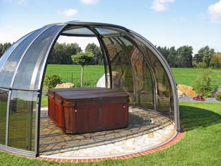 Hot tub enclosure SPA DOME ORLANDO - keeps yout spa pool clean and debris-free