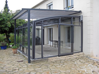 Terrace enclosure CORSO fits well to your house