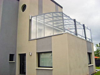 Balcony enclosure CORSO - enjoy your balcony year long