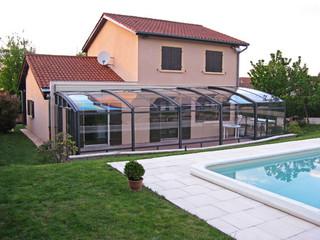 Retractable patio enclosure CORSO