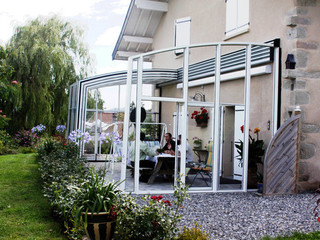 Patio cover CORSO Solid installed on Iceland