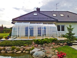 Patio enclosure CORSO Entry - enjoy in every weather