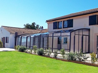 Patio enclosure CORSO Premium is beautiful extension of your house