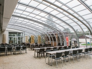 Patio enclosure for Horeca