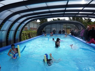 Pool enclosure Laguna installed in Rewa Rewa School in Newlands