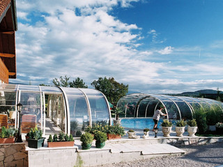 High pool cover LAGUNA