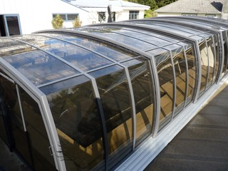 Pool enclosure Omega intalled in Wainuiomata