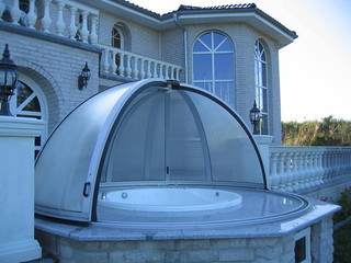 Pool enclosure ORIENT - for your pool and inground hot tub