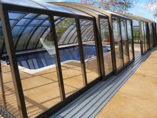Retractable swimming pool cover RAVENA - Waikato