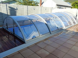 Swimming pool enclosure UNIVERSE - Lower Hutt