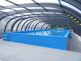 50 YEAR OLD SCHOOL POOL TRANSFORMED