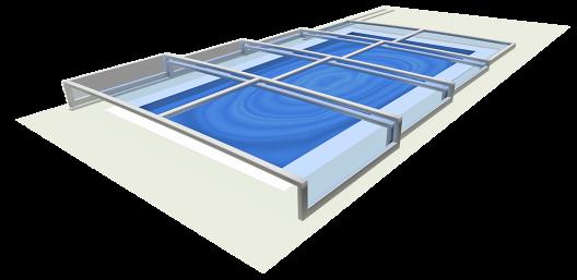 Zadaszenie basenu Champion