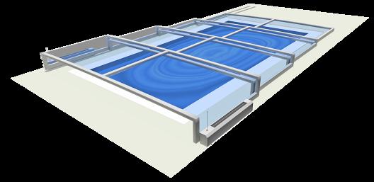 Zadaszenie basenu eChampion
