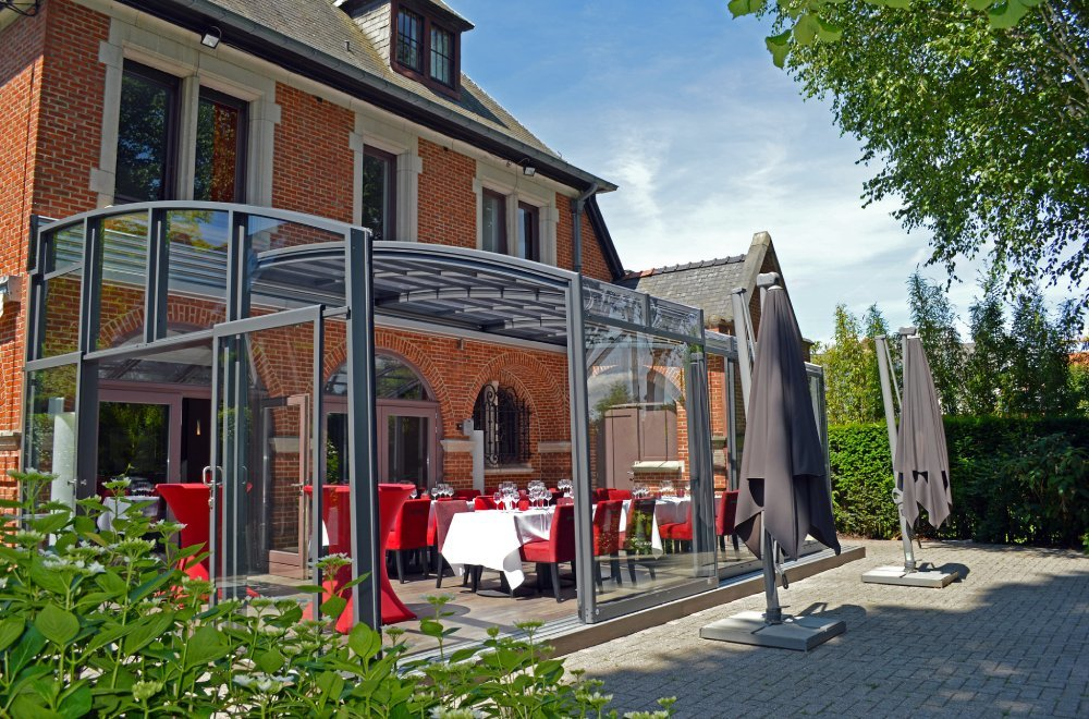 Zadaszenie CORSO dla restauracji, hoteli i kawiarnii