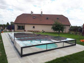 Bardzo niskie zadaszenie basenu Champion (10)