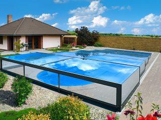 Bardzo niskie zadaszenie basenu Champion (7)