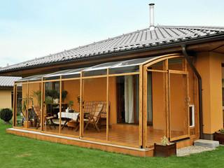 Innowacyjne powiększenie domu - zadaszenie patio CORSO
