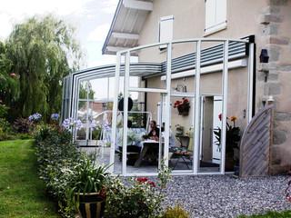 Zadaszenie patio CORSO - założone we Francji