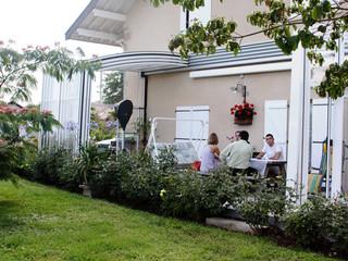 Zadaszenie patio CORSO - całkowicie otwarte