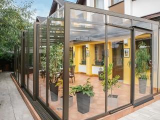 Przesuwana zabudowa tarasowa Corso Glass