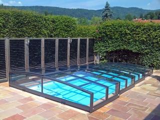 Przesuwane zadaszenie basenowe Viva