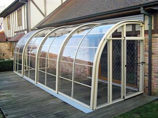 Zadaszenie tarasu i ogród zimowy CORSO Entry