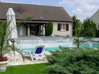 Zadaszenie basenowe OCEANIC utrzymuje Twój basen w cieple i w czystości