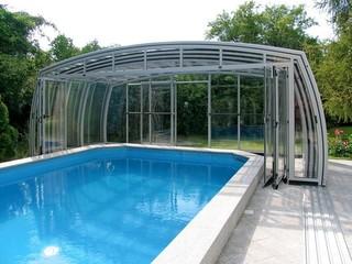 Całkowicie zamykane zadaszenie basenowe OMEGA