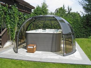 Zadaszenie dla jacuzzi SPA SUNHOUSE - najlepsza idea słonecznego pokoju