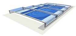 Acoperire  piscina Terra