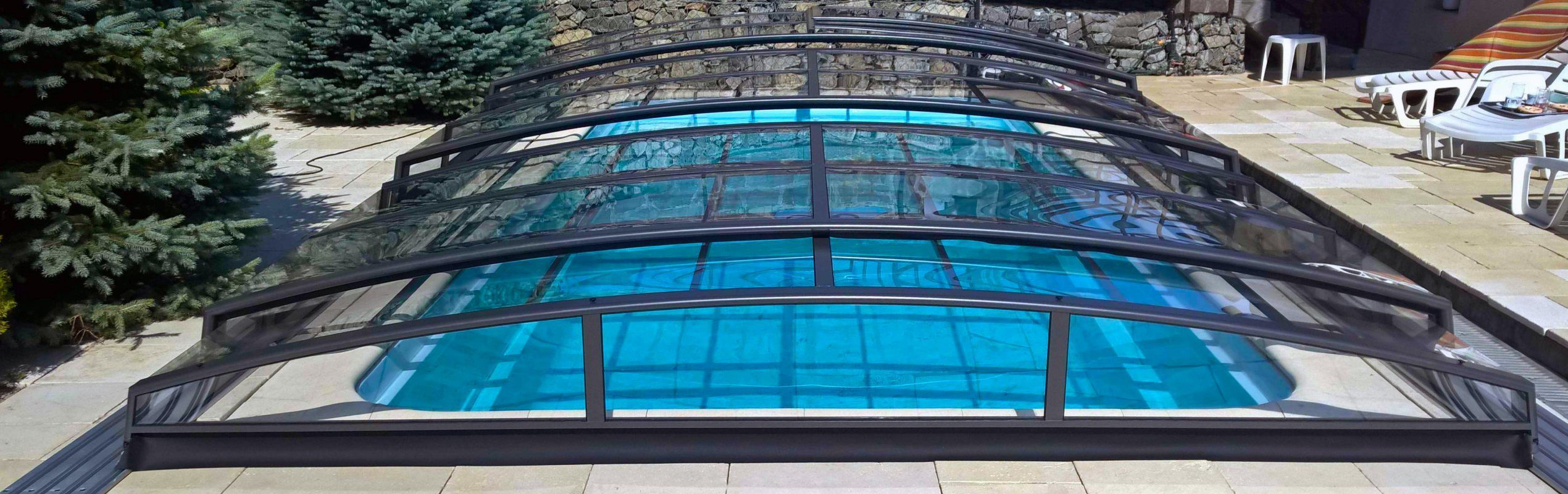 Acoperiri de piscina Azure Angle